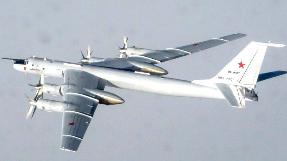 Руските самолети са засечени да приближават северозападното крайбрежие на Шотландия