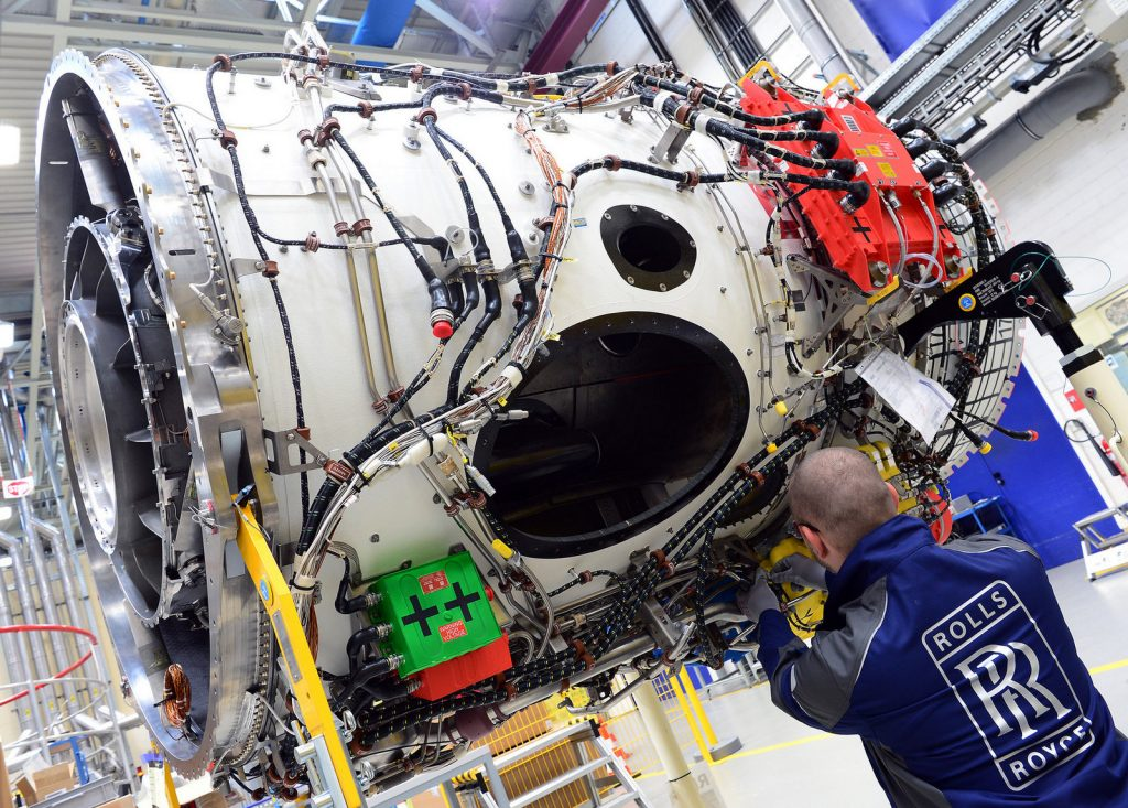 Pearl 700. Снимка: Rolls-Royce