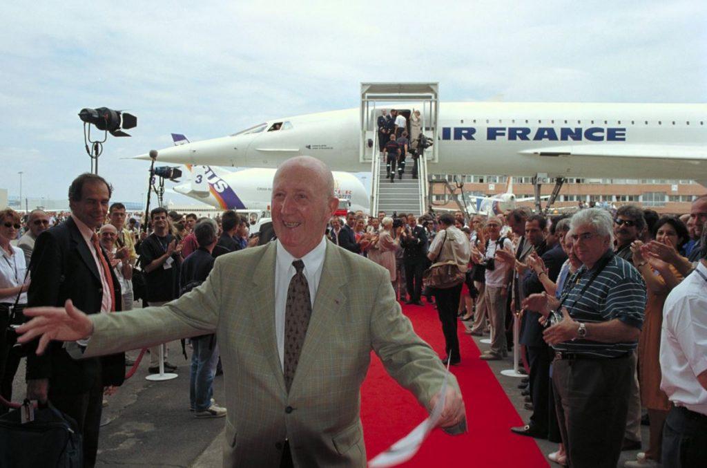 """Пиер Готие, наричан """"бащата на Конкорд"""". Снимка: Airbus"""