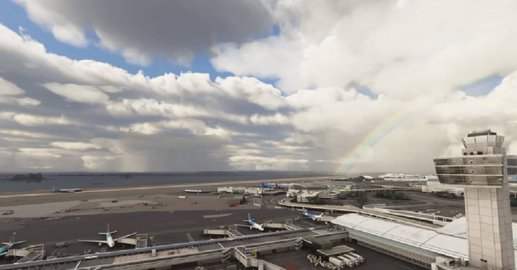 Реалистичното пресъздаване на летища ще се постигне чрез комбиниране на 360 градусови панорами, заснети на земята, и спътникови снимки на обектите