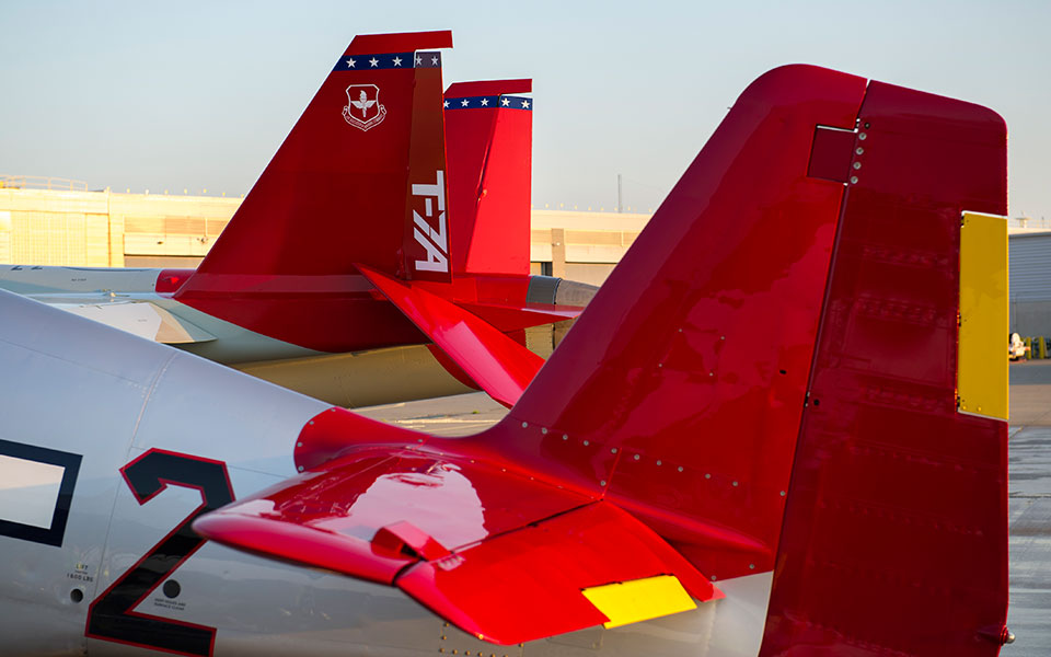 T-7A Red Hawk. Снимка: Boeing