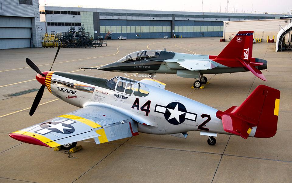 Tuskegee Airmen. Снимка: Boeing