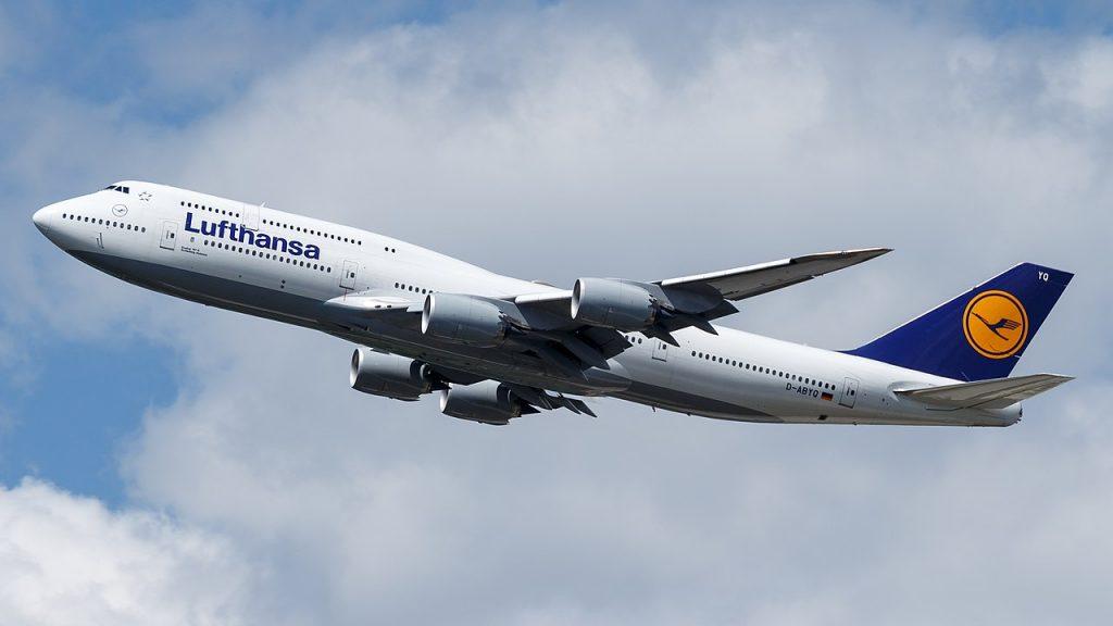 Луфтханза е най-големия оператор на пътническия вариант на 747-8 с 20 самолета от типа