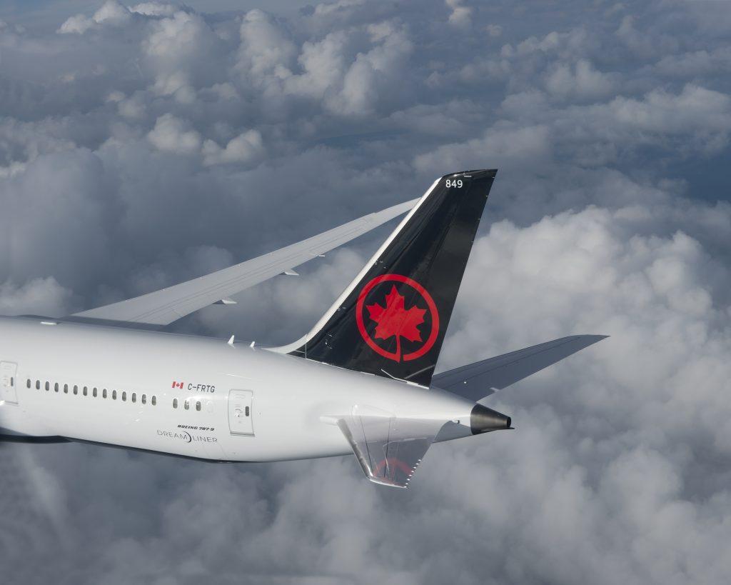 Air Canada-B787-9. Снимка: Air Canada