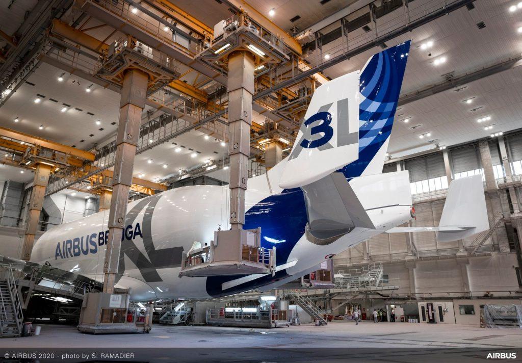 Beluga XL в Тулуза. Снимка: Airbus