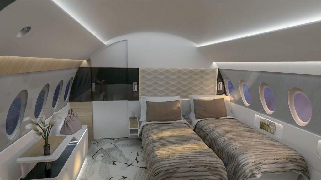 Пътуването със стил може да бъде и доста уморително, така че когато сте готови за истинска почивка на разположение е спалнята...