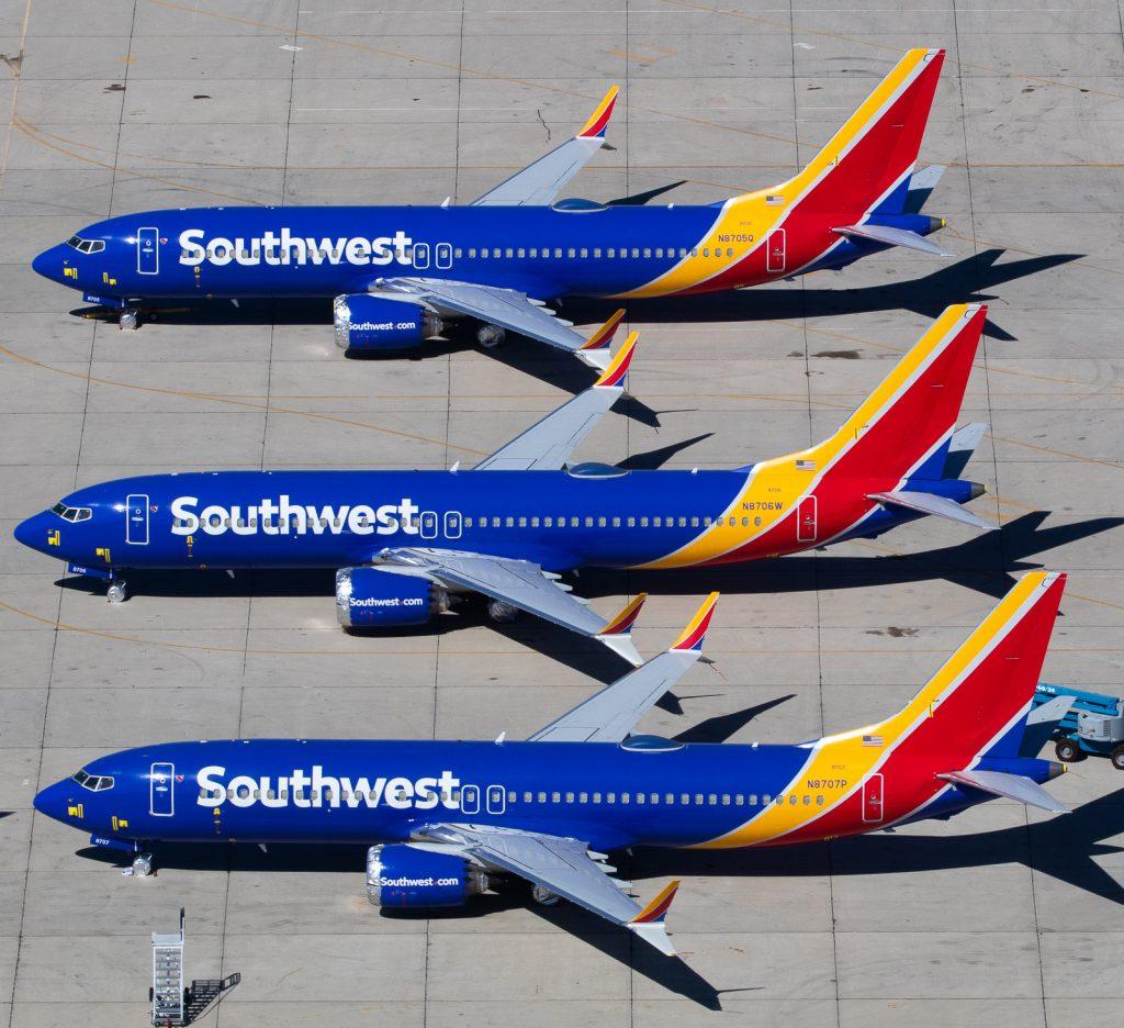 Американската Southwest е най-големия оператор на 737 MAX в света и компанията с най-голям брой поръчани самолети от типа