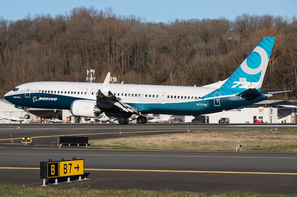 Boeing 737 MAX-9 е най-големия от семейството и втори по брой на поръчани самолети. Доставени са едва 12 броя