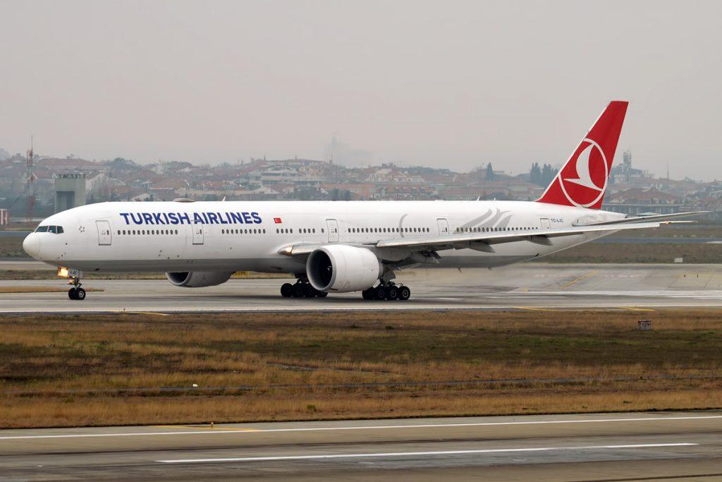 Турският Боинг 777 (TC-LJC) ще има нужда от подмяна на обшивката в опашната част