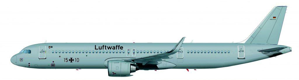 Германските ВВС и Lufthansa Technik са сред най-големите клиенти на Airbus Corporate Jets с над 30 доставени самолета от сериите.