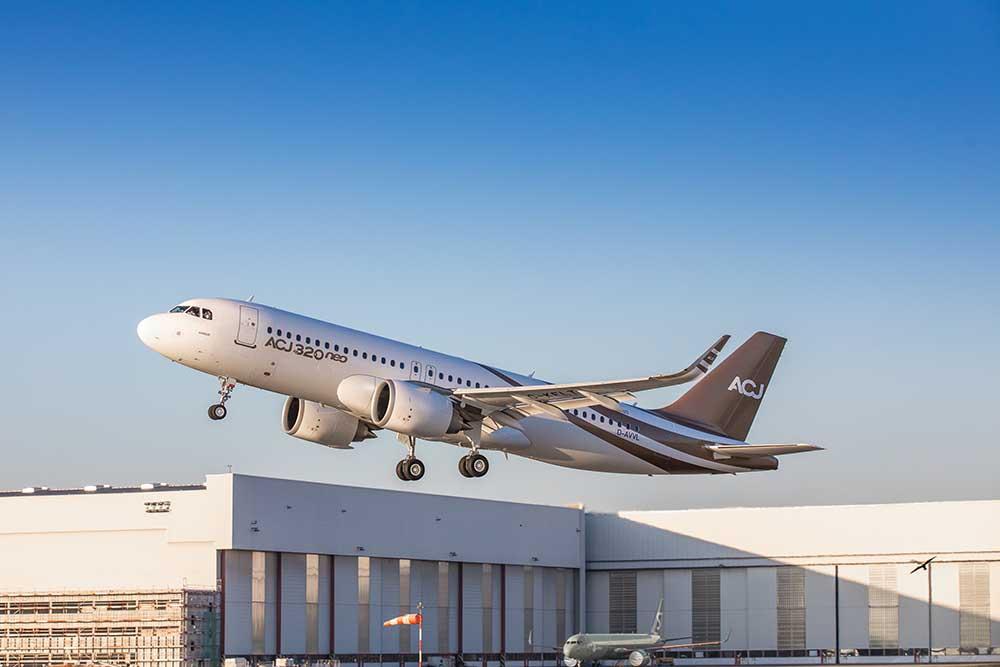 Поръчани са над 20 самолета от сериите ACJ320neo и над 200 от двете поколения на корпоративния гигант