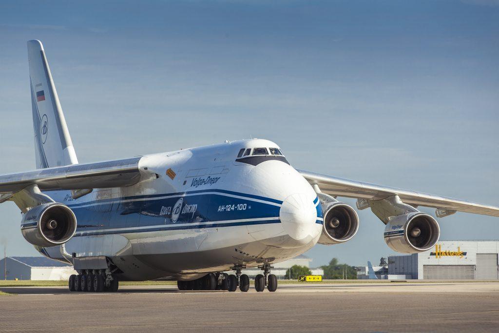 Волга-Днепр е най-големия световен оператор на гиганта Ан-124 Руслан