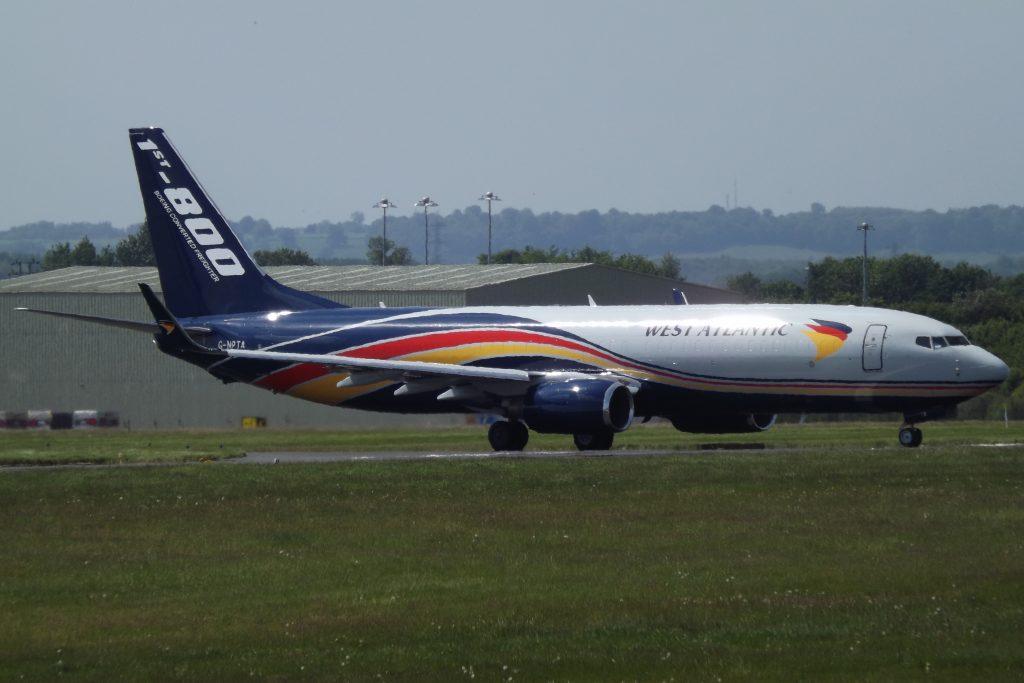Британската West Atlantic Cargo Airlines е първият клиент на 737-800BCF в Европа