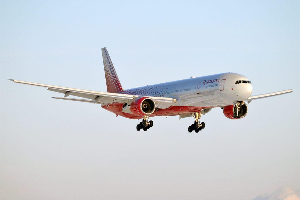 Россия разполага с флот от 67 самолета, от които 10 Боинг 777 -200 и -300
