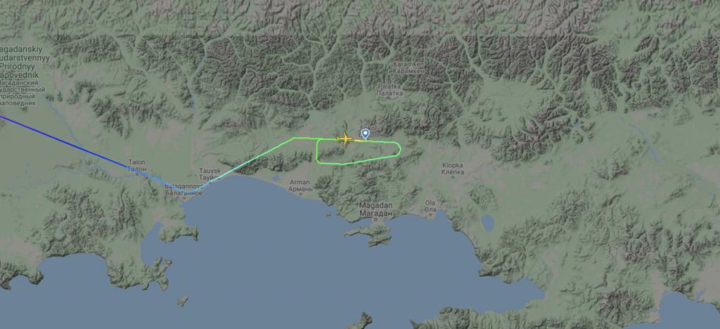 Последните минути от полета, проследени от Flightradar24