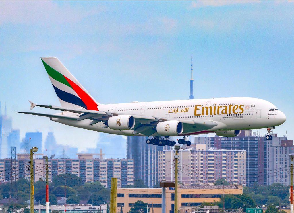 Emirates A380. Снимка Emirates
