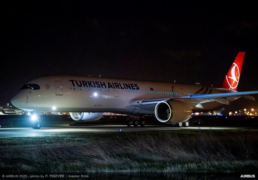 A350 Turkish Airlines. Снимка: Airbus