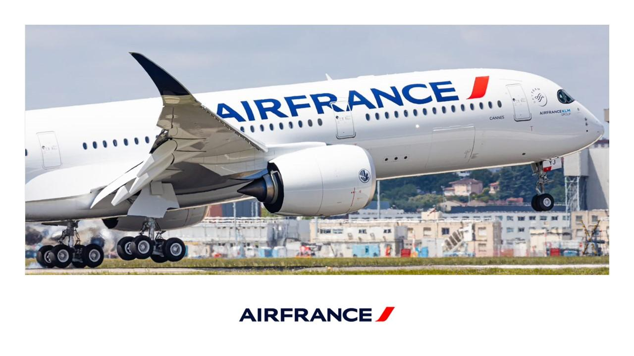 Airbus A350. Снимка: AirFrance